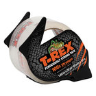 T-Rex 284713 1 7/8 inch x 35 Yards Clear Packaging Tape Roll with Dispenser