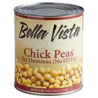 Bella Vista #10 Can Chick Peas for Hummus (No EDTA) - 6/Case