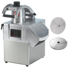 Sammic CA-31 1 1/2 hp Continuous Feed Food Processor with 1/8 inch Slicing Disc and 1/8 inch Shredding Disc