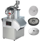 Sammic CA-41 Dice Full Moon Pusher Continuous Feed Food Processor with 3 Discs - 1 1/2 hp