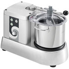 Eurodib C-TRONIC 6VT Commercial Food Processor with 1.4 Gallon Stainless Steel Bowl - 120V, 1/2 hp