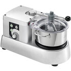 Eurodib C-TRONIC 4VT Commercial Food Processor with 0.87 Gallon Stainless Steel Bowl - 120V, 1/2 hp