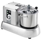 Eurodib C-TRONIC 9VT Commercial Food Processor with 2.5 Gallon Stainless Steel Bowl - 120V, 1/2 hp