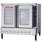 Blodgett DFG-100 Premium Series Natural Gas Additional Unit Full Size Convection Oven - 55,000 BTU