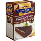 Ghirardelli 7.5 lb. Chocolate Decadence Torte Mix - 4/Case