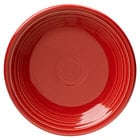 Homer Laughlin 464326 Fiesta Scarlet 7 1/4 inch China Salad Plate - 12/Case