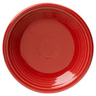 Homer Laughlin 464326 Fiesta Scarlet 7 1/4 inch Salad Plate - 12/Case