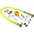 T&S HG-4D-36SK Safe-T-Link 36 inch SwiveLink Quick Disconnect Gas Appliance Connector 3/4 inch NPT with Installation Kit