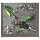 Steep Cafe By Bigelow English Breakfast Decaffeinated Tea Pyramid Sachets - 50/Case
