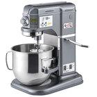 Avantco MIX8GY Dark Gray 8 Qt. Bowl Lift Countertop Mixer with Standard Accessories - 120V, 4/5 hp