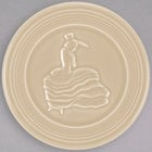 Homer Laughlin 443330 Fiesta Ivory 6 inch Trivet - 6/Case