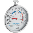 Taylor 5994 3 inch Dial Refrigerator / Freezer Thermometer