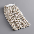Continental A827109 Natural 16 oz. Cotton Cut-End Mop Head with 1 1/4 inch Band