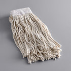 Continental A847015 Natural 24 oz. Cotton Cut-End Mop Head with 5 inch Band