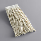 Continental A827009 Natural 16 oz. Cotton Cut-End Mop Head with 5 inch Band