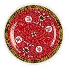 Longevity 6 inch Round Melamine Plate - 12/Pack