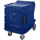 Cambro CMBH1826LF186 Camtherm® Navy Blue Low Profile Electric Hot Food Holding Cabinet in Fahrenheit - 110V