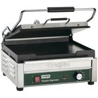 Waring WFG250 Tostato Supremo Large Smooth Top & Bottom Panini Grill - 14 1/2