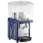 Narvon D26G2S Double 2.6 Gallon Bowl Refrigerated Beverage Dispenser - 120V, ETL