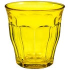 Duralex 1027SR06SA Picardie 8.75 oz. Yellow Stackable Glass Tumbler - 48/Case