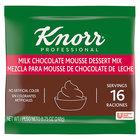 Knorr 8.75 oz. Milk Chocolate Mousse Mix - 10/Case
