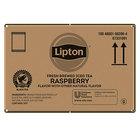 Lipton 3 Gallon Black Tea with Raspberry Iced Tea Filter Bags - 24/Case
