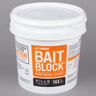 JT Eaton 709-PN Peanut Butter Flavor Bait Blocks - (144) 1 oz. Blocks / Pail