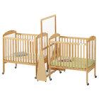 Jonti-Craft Baltic Birch 1654JC 20 inch x 37 inch x 59 1/2 inch Hard Maple Wood See-Through Small Crib Divider