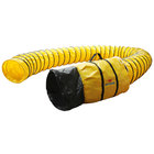 XPOWER 12DH25 12 inch Extra Flexible PVC Ventilation Duct Hose for Select Fans - 25'