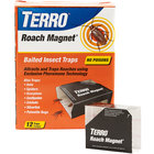 Terro T256 Roach Magnet 12-Pack Trap with Exclusive Pheromone Technology