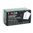 Taylor 9999N Anti-Bacterial Thermometer Probe Wipes - 100/Pack