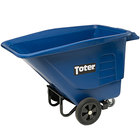 Toter UT005-00BLU 0.5 Cubic Yard Blue Tilt Truck / Trash Cart (400 lb.)