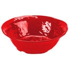 GET ML-133-R New Yorker 4.25 qt. Red Round Catering Bowl - 14 inch