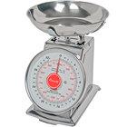 San Jamar / Escali SCDLB2 Mercado 2 lb. Mechanical Dial Portion Control Kitchen Scale