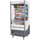 Beverage-Air VMHC12-1-W VueMax 35 1/8 inch White Air Curtain Merchandiser