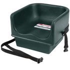 Cambro 100BCS Green Single Seat Booster Chair with Strap