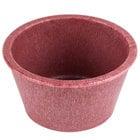 HS Inc. HS1014 2.5 oz. Raspberry Polyethylene Ramekin - 48/Case