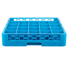 Carlisle RG2514 Opticlean 25 Compartment Glass Rack