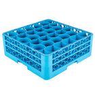 30 Compartment Carlisle Glass Racks and Extenders