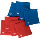 Triumph 12-0040-2 12.5 oz. Red and Blue Bean Bags - 8/Set