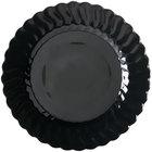 Fineline Flairware 210-BK 10 1/4 inch Black Plastic Plate - 18/Pack
