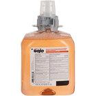GOJO® 5162-04 FMX Luxury 1250 mL Fresh Fruit Foaming Antibacterial Hand Soap - 4/Case