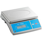 AvaWeigh PC60OS 60 lb. Digital Portion Control Scale with an Oversized Platform