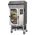 Blodgett-Combi BLCT-101E-H Electric Boiler-Free 8 Hotel Pan 10 Gastronorm Pan Combi Oven with Touchscreen Controls and Hoodini Ventless Hood - 240V / 3 Phase