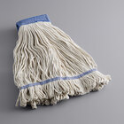 Lavex Janitorial 32 oz. Cotton Loop End Mop Head with 5 inch Band
