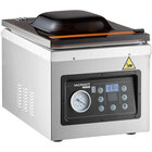 VacPak-It Ultima UVMC10 Programmable Chamber Vacuum Packing Machine with 10 1/4 inch Seal Bar, Oil Pump, and 10 Programmable Options - 120V, 1000W