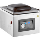 VacPak-It Ultima UVMC16 Programmable Chamber Vacuum Packing Machine with 16 inch Seal Bar, Oil Pump, 10 Programmable Options, and Gas Flush - 120V, 1150W