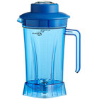 Avamix BLJAR64PB 64 oz. Blue Polycarbonate Container with Blade and Lid for BX and BL Series Blenders