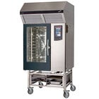 Blodgett-Combi BLCT-101E-H Electric Boiler-Free 8 Full Size Sheet Pan Combi Oven with Touchscreen Controls and Hoodini Ventless Hood - 208V / 3 Phase