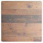 Lancaster Table & Seating Excalibur 24 inch x 24 inch Square Table Top with Textured Farmhouse Finish